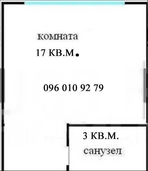 Продам ? гостинка, г. Харьков                               в р-не Старая Салтовка                                 фото
